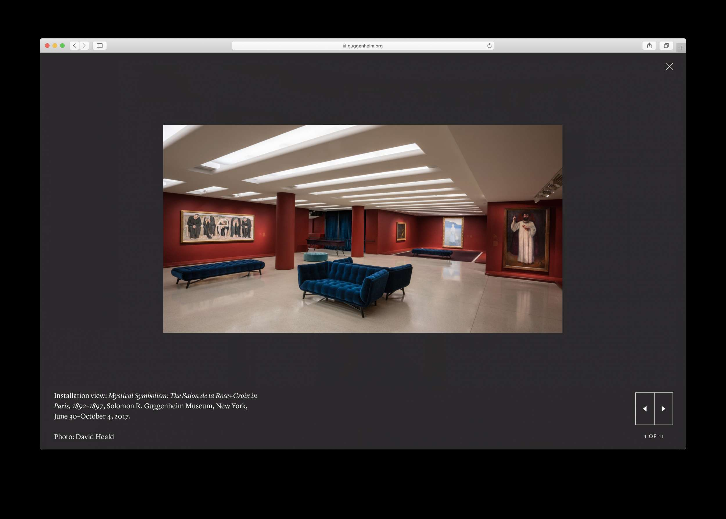Guggenheim Museum Website Refresh